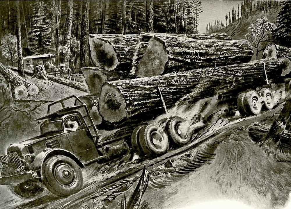 logging-truck